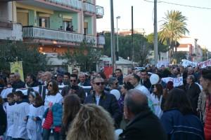 Manifestazione contro inceneritore Valle del Mela - 05