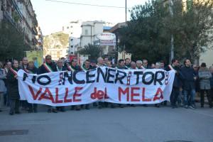 Manifestazione contro inceneritore Valle del Mela - 06
