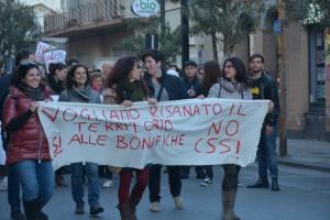 Manifestazione contro inceneritore Valle del Mela - 07