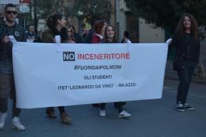 Manifestazione contro inceneritore Valle del Mela - 08