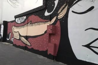 """foto del murales """"Casa dei sogni"""" di Nicolo Amato, DIstrart"""