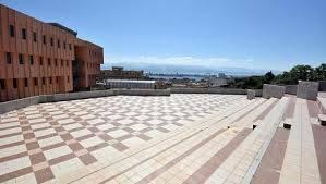 foto dell'arena cicciò, la terrazza del palacultura antonello di Messina
