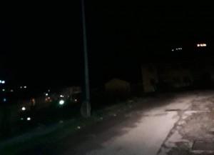 Foto di Fondo fucile al buio - mancanza illuminazione