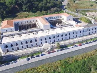 foto dall'alto dell'istituto agrario p. cuppari di messina