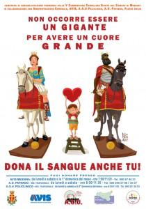 campagna per la donazione di sangue a messina - disegni di lelio bonaccorso