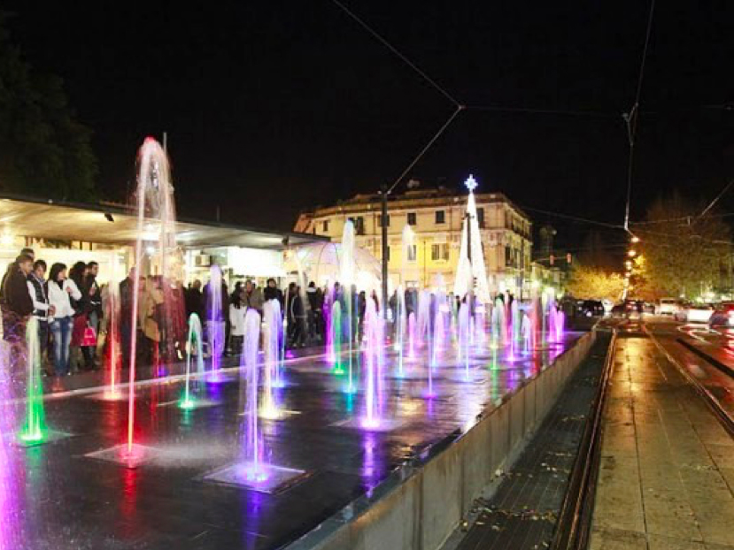 fontana piazza cairoli - messina