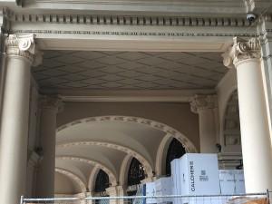 Arco portici Galleria (dopo)