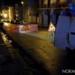 Foto 03 - Intervento per transennare la voragine in via San Agostino