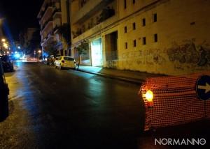 Foto 06 - Strada chiusa direzione mare-monte Via San Agostino, Messina
