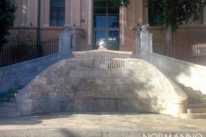Messina. Restaurata la scalinata monumentale del liceo Maurolico