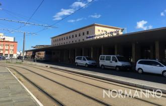 foto della stazione centrale messina