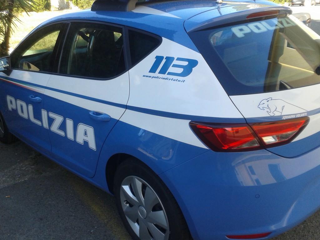 Foto auto della Polizia