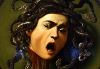 immagine dell'opera Medusa di Caravaggio