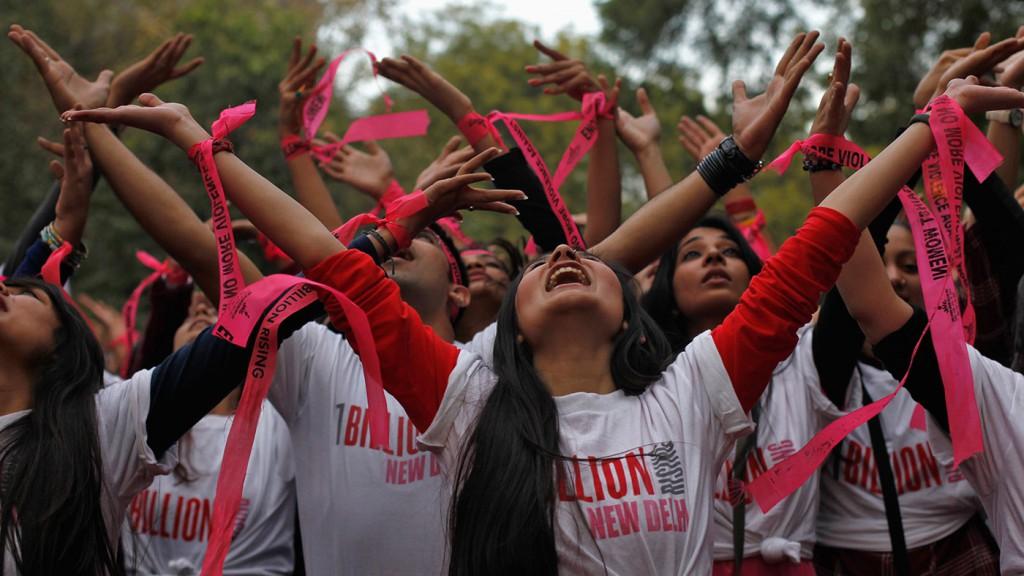 Flash mob One Billion Risign - Foto di amnesty international