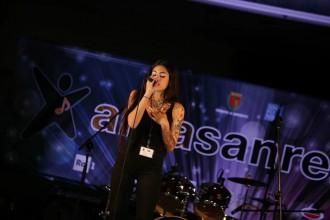 foto di Alice Caioli di Messina ad Area Sanremo. Parteciperà alla 68esima edizione del Festival di Sanremo