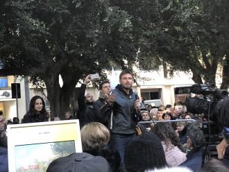 Elezioni 2018 - Foto dell'incontro con Di Battista a piazza Cairoli, Messina