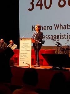l'assessore alle politiche sociali nina santisi presenta l'esperienza di messina in materia di accoglienza alla conferenza sprar di roma