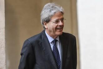 Foto del presidente del Consiglio Paolo Gentiloni