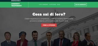 piattaforma elezioni 2018 candidati