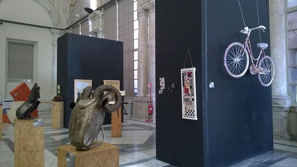 Foto dell'esposizione RiArteco