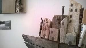 Opera d'arte per RiArtEco in ferro e legno