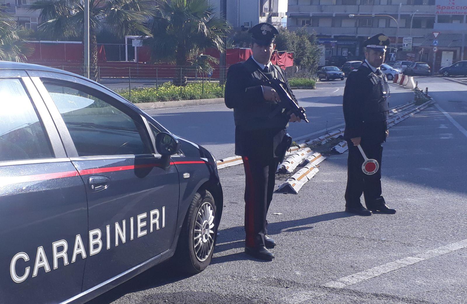 Foto di repertorio, carabinieri di Messina Sud dentro il Policlinico