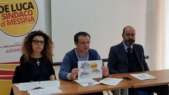 conferenza stampa cateno de luca - candidato a sindaco di messina