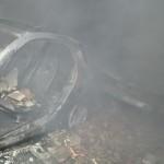 foto incendio via san sebastiano