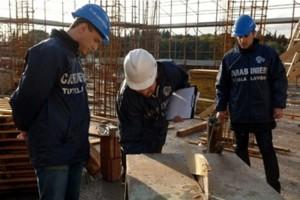 Foto ispezione luoghi di lavoro - Carabinieri