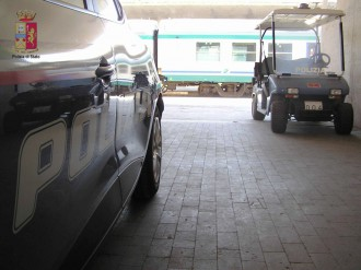 Foto di repertorio, polizia ferroviaria di Messina