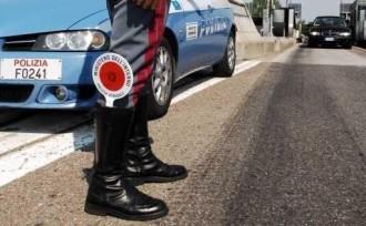 Foto di repertorio, controlli della Polizia sul territorio