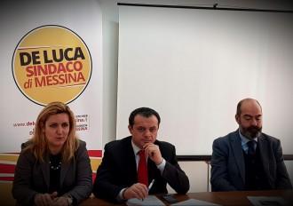 Elezioni amministrative 2018 Messina - Foto della conferenza stampa di Cateno De Luca