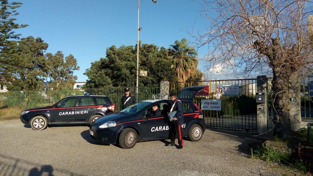 Foto di repertorio - Carabinieri giammoro