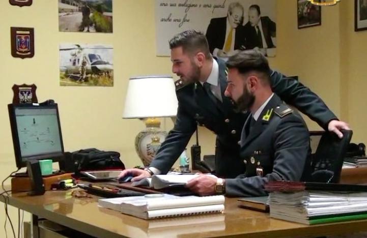 Fotogramma del video sull'Operazione Barbatrucco, reati contro la Pubblica Amministrazione a Messina e Caltanissetta