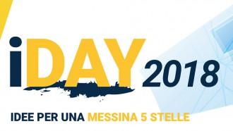 locandina di presentazione dell'iDay Messina, iniziativa di democrazia partecipata
