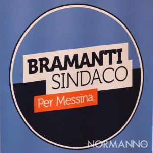Logo quadrato Bramanti Sindaco per Messina