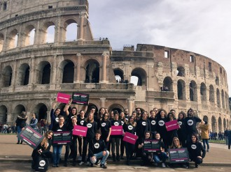 one youth ambassadors 2018 roma