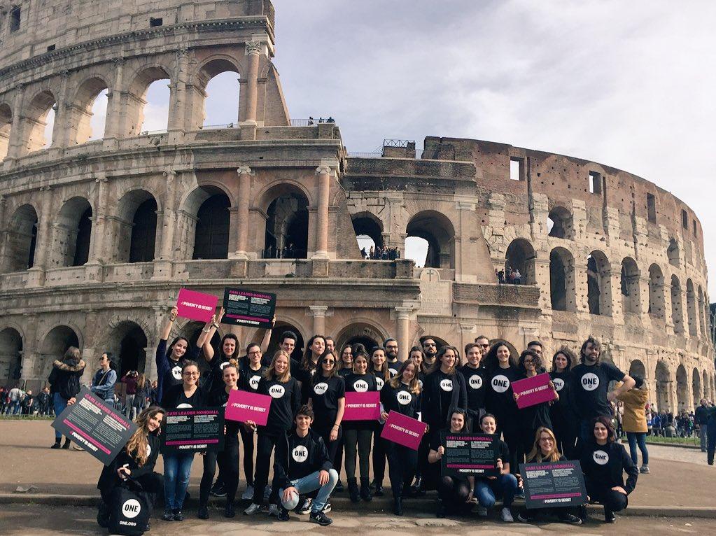 one youth ambassadors 2018 roma