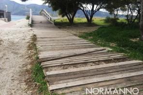 Capo Peloro: arriva la proposta di ristrutturare la passerella che porta al mare