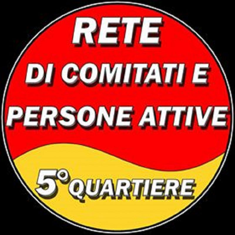 Logo della lista civica rete di comitati e persone attive 5° Quartiere - Messina