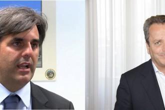 Foto dei due candidati alle elezioni rettore Unime