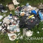 foto di rifiuti a tono