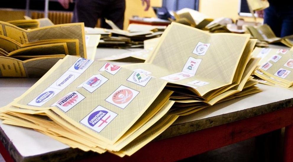 immagine delle schede elettorali