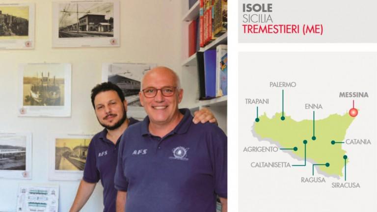 foto di presentazione del progetto di riuso sociale attivo alla stazione di tremestieri e portato avanti dai soci di AFS Associazione ferrovie siciliane - messina