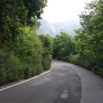 lavori sulla strada di collegamento tra il villaggio di S. Michele e Portella Castanea - messina