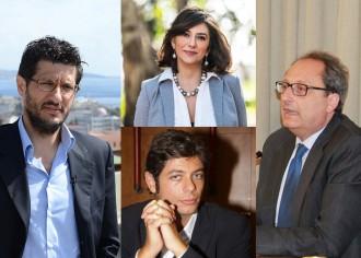 Foto composta: Felice Calabrò, Maria Flavia Timbro, Francesco Palano Quero, Antonio Saitta