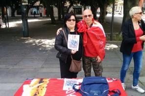 La Cgil a Piazza Cairoli per dire NO ai negozi aperti nei giorni di festa