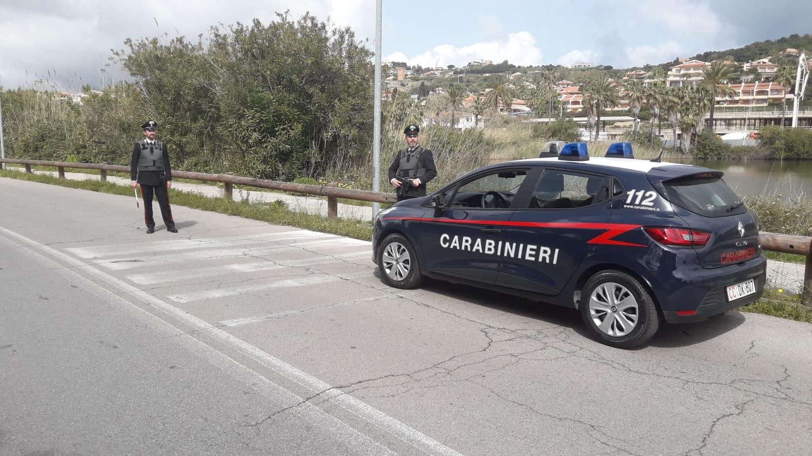 Foto di pattuglia dei carabinieri - Stazione di Ganzirri