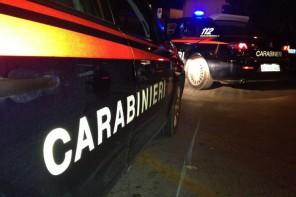 Pattuglie dei Carabinieri attive in operazione notturna