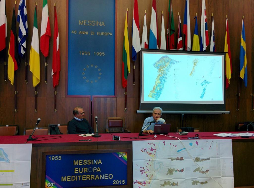 Foto della presentazione preliminare piano regolatore generale Messina